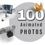 100 Animated Photos