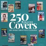 250 Magazine Covers