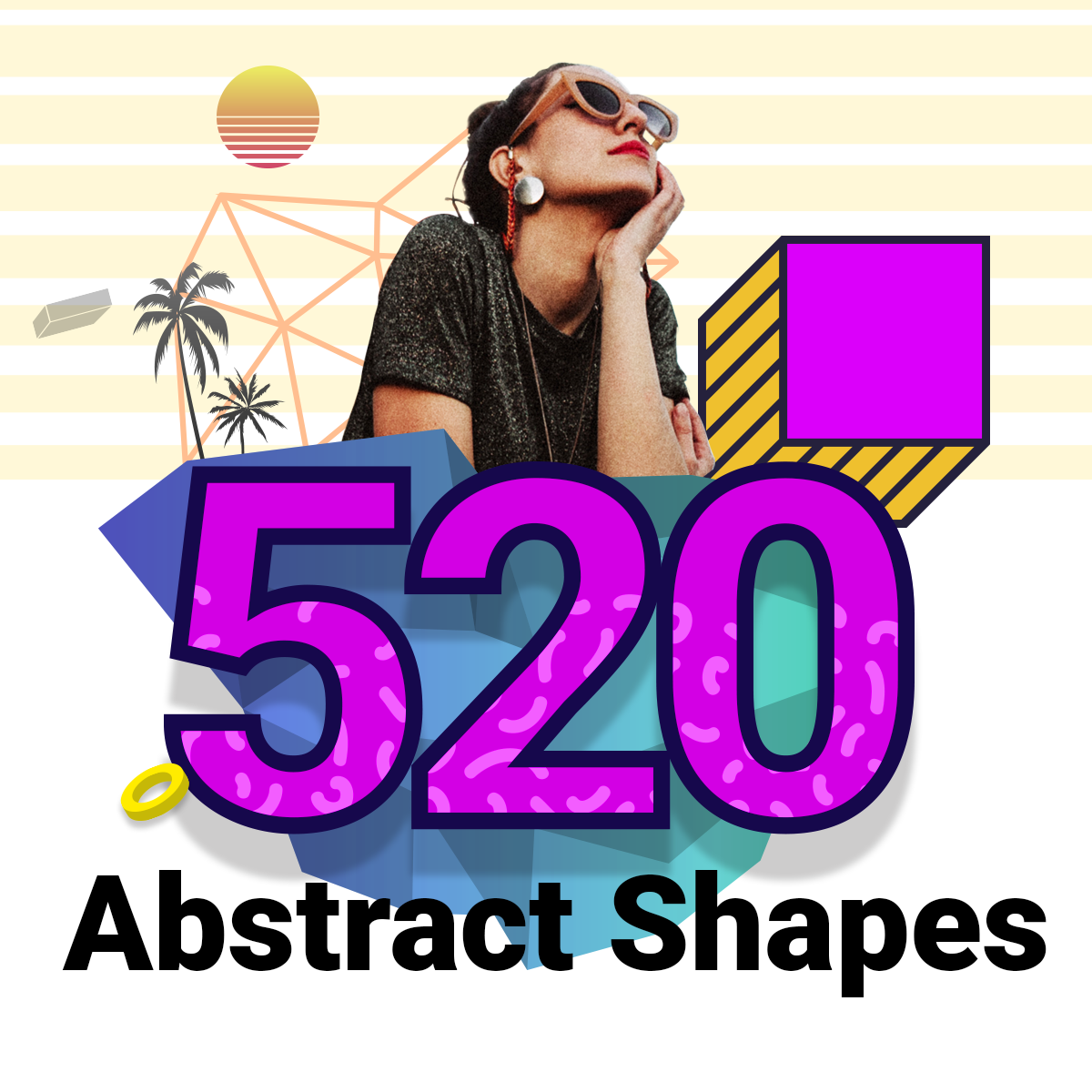520 Abstract Shapes Designshock Shockfamily