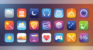 015 iphone app icons